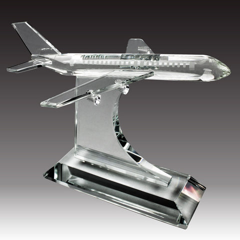 C-1135  CRYSTAL AIRPLANE AWARD