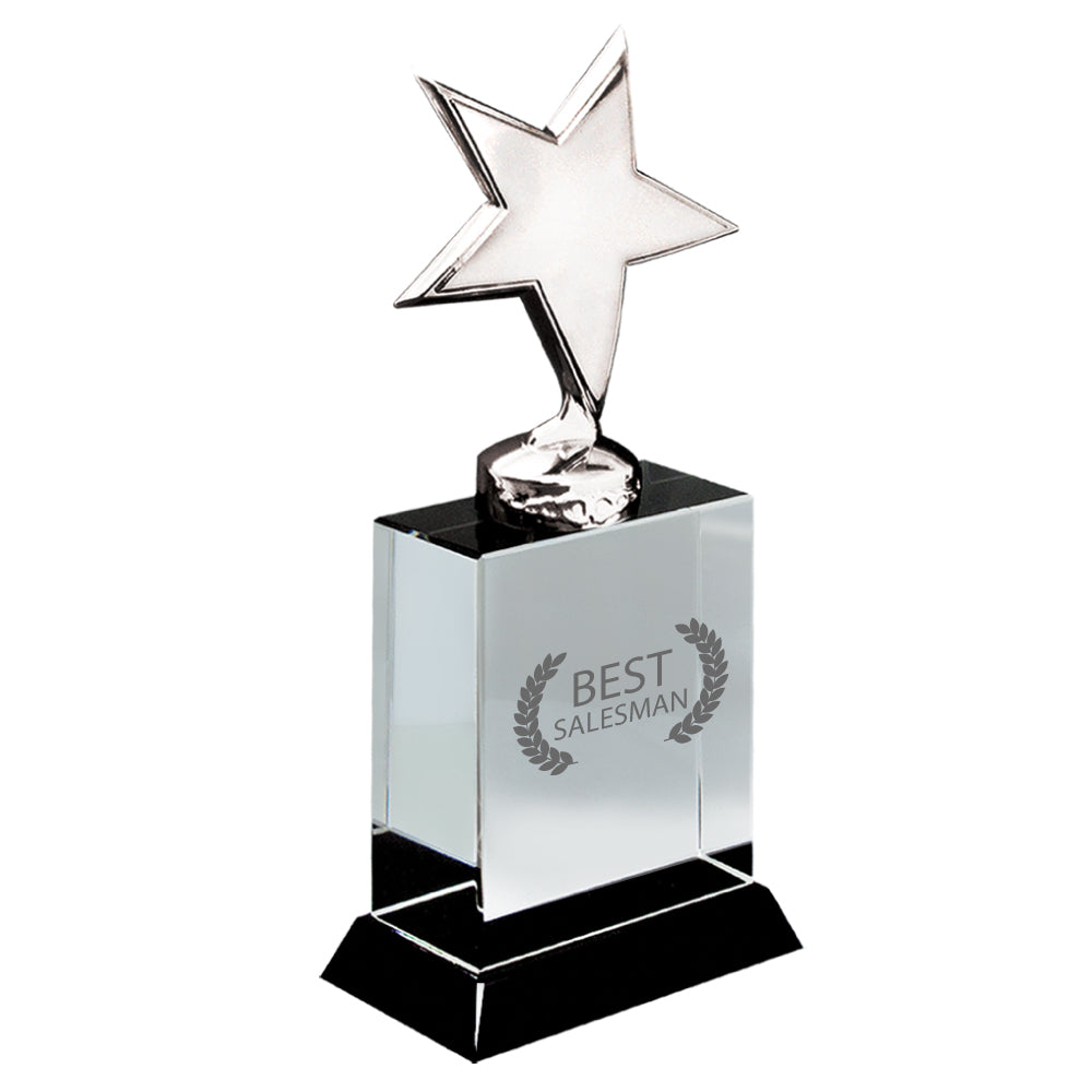C-2400  STAR CRYSTAL AWARD