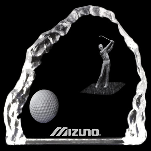 C-2727  3D CRYSTAL GOLF ICEBERG AWARD