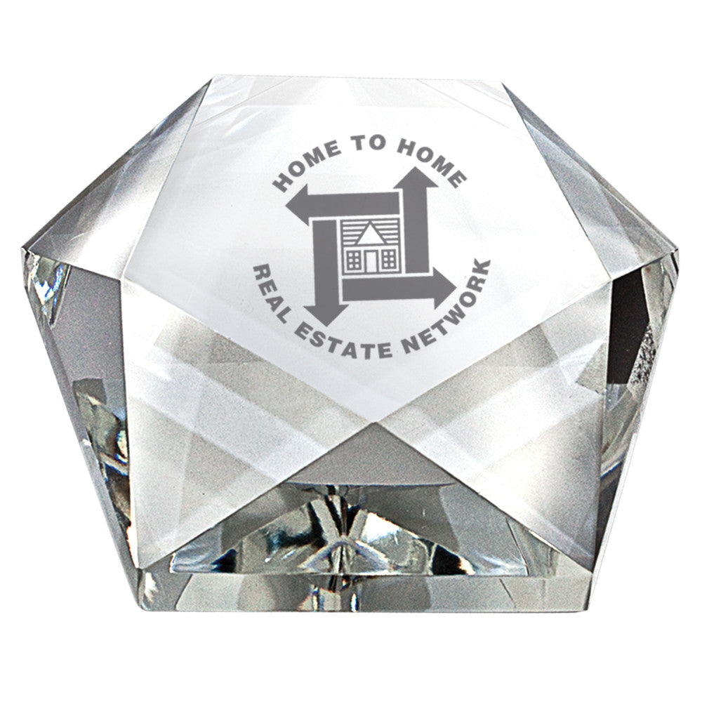 C-360  CRYSTAL STAR PAPERWEIGHT