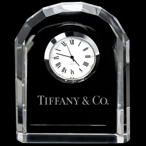 C-3656  MINI DESIGNER CRYSTAL ARCH CLOCK