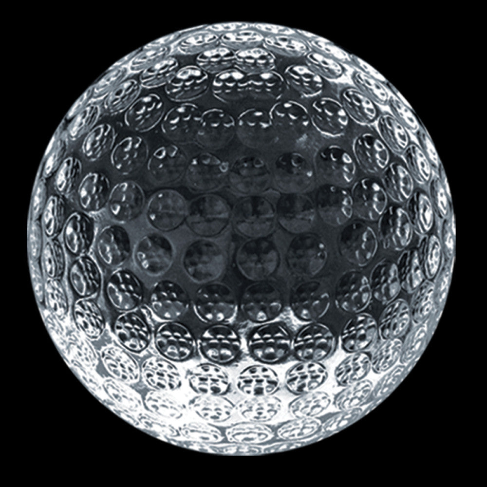 C-600 GO  CRYSTAL GOLF PAPERWEIGHT