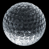 C-600GO  CRYSTAL GOLF PAPERWEIGHT