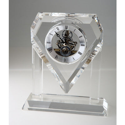 C-8501  JUMBO CRYSTAL GEAR CLOCK