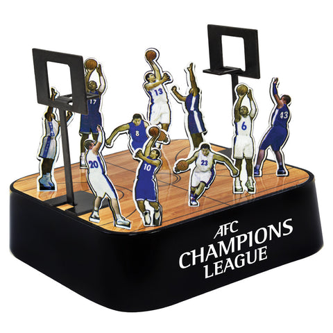 MI-0108CBK  COLORED BASKETBALL MAGNETIC SCULPTURE BLOCK