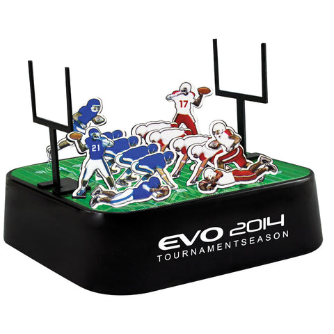 MI-0108CFO  COLORED FOOTBALL MAGNETIC SCULPTURE BLOCK