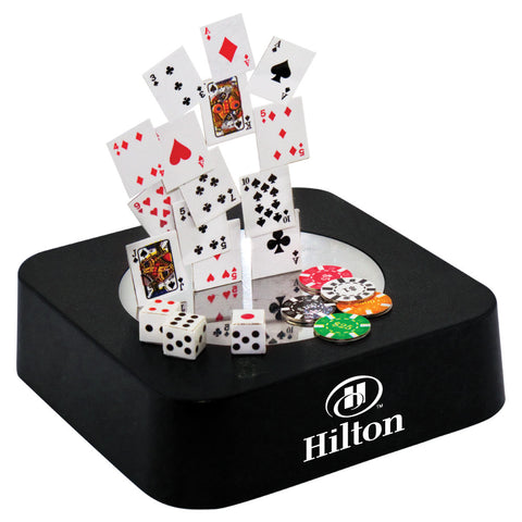 MI-0108PK  POKER MAGNETIC SCULPTURE BLOCK