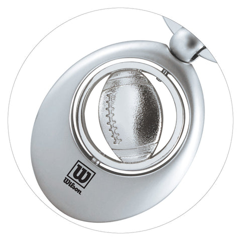 MI-0186FO  FOOTBALL SWIVEL SPORTS KEY CHAIN