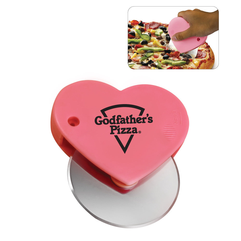 MI-018  HEART SHAPE PIZZA CUTTER