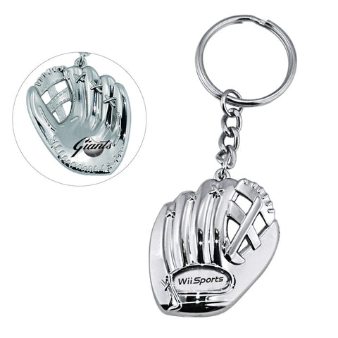 MI-0328  BASEBALL GLOVE KEY CHAIN