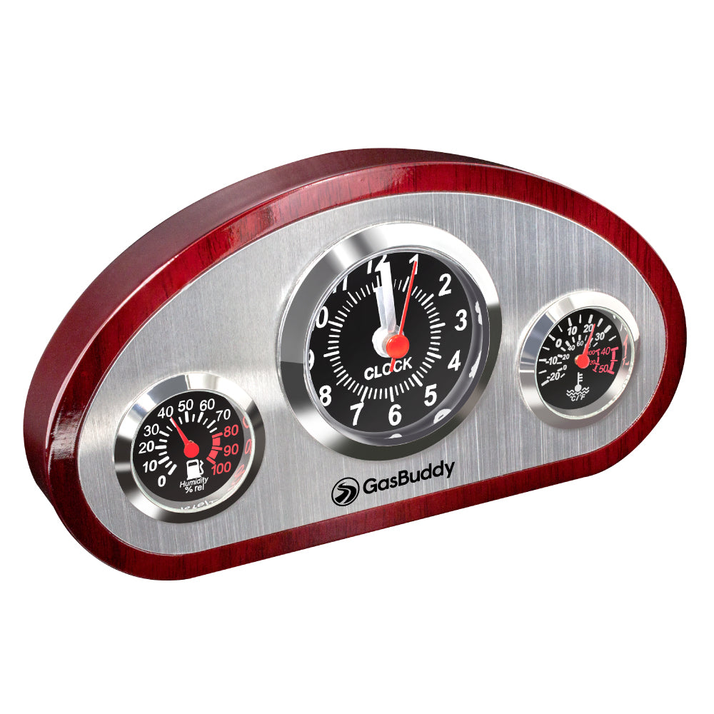 MI-1099  DASHBOARD WEATHER STATION CLOCK