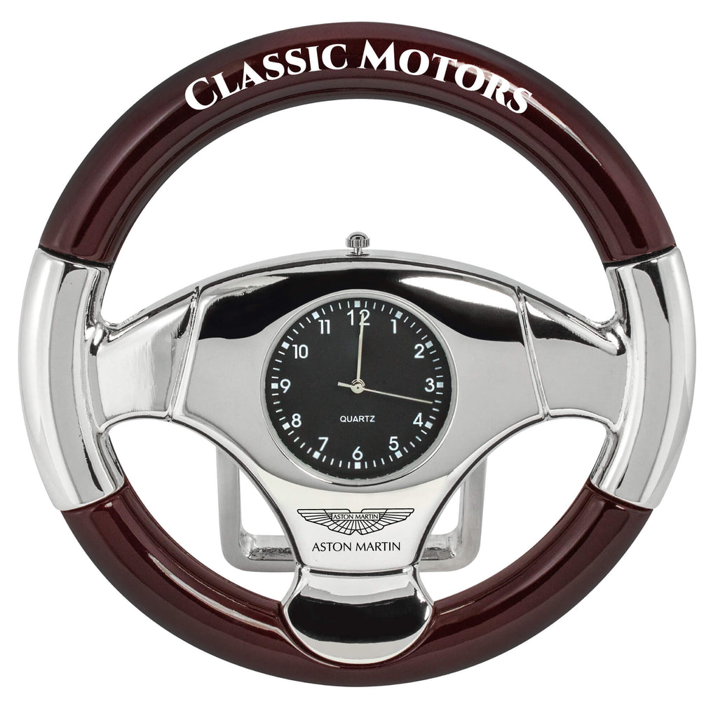 MI-1101M  METAL STEERING WHEEL CLOCK