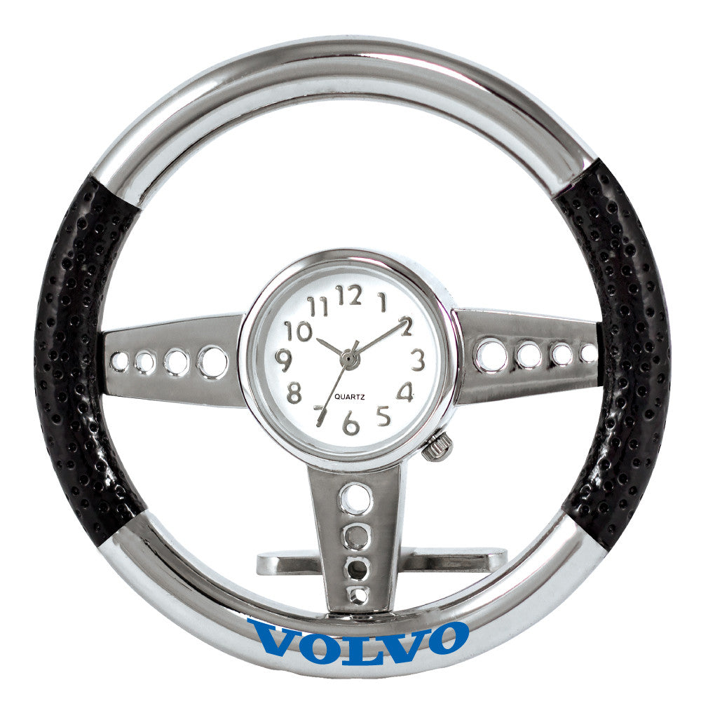 MI-1105  BLACK STEERING WHEEL CLOCK