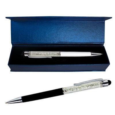 MI-110  STYLUS PEN WITH CRYSTALS