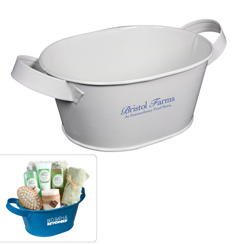 MI-1122  OVAL METAL BUCKET