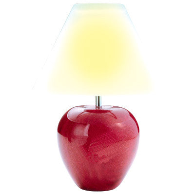 MI-1134  MARBLE APPLE CANDLE LAMP