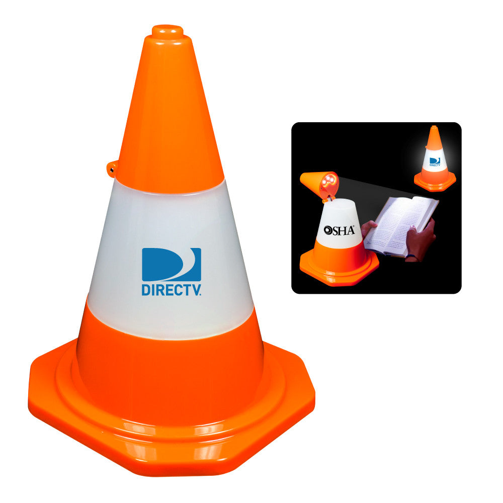 MI-1135  TRAFFIC CONE DESKTOP LED LAMP