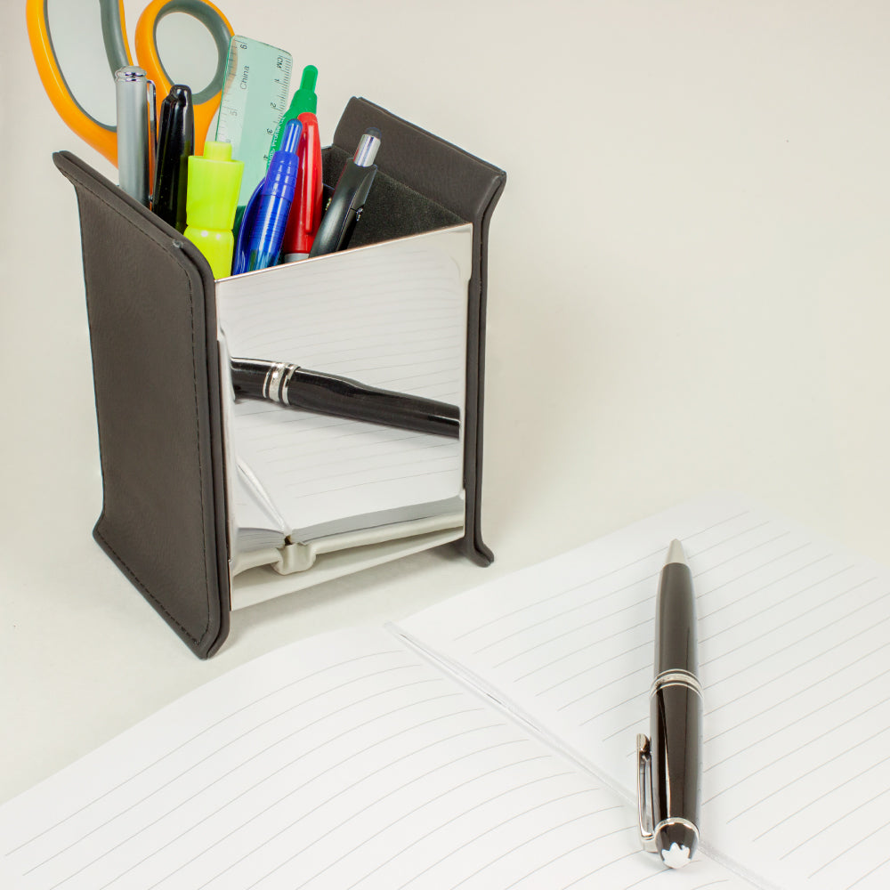 MI-1180  EXECUTIVE PU LEATHER PEN HOLDER