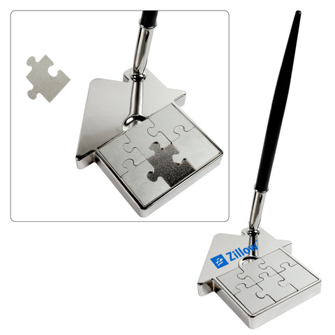 MI-1338HS  HOUSE METAL PUZZLE PEN SET
