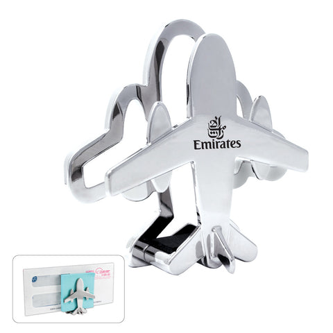 MI-1450  AIRPLANE MEMO/CARD HOLDER