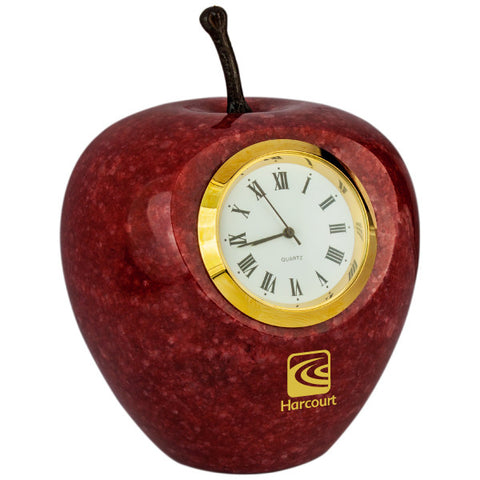 MI-188A  MARBLE APPLE CLOCK
