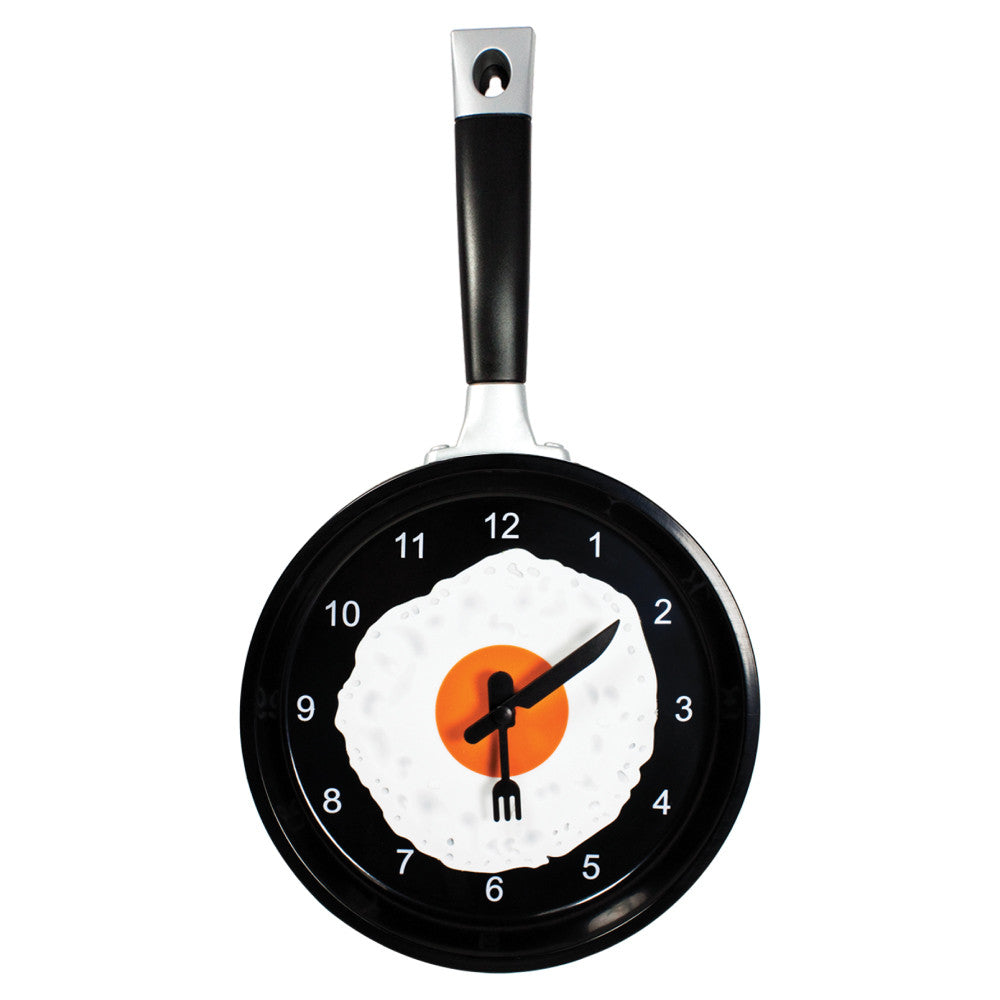 MI-1919E  FRYING PAN CLOCK WITH EGG