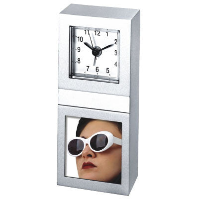 MI-2007  METAL ALARM CLOCK AND PICTURE FRAME