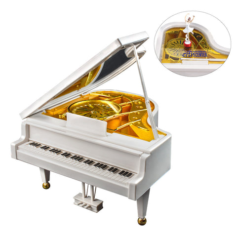 MI-2012  PIANO W/ BALLERINA MUSIC BOX