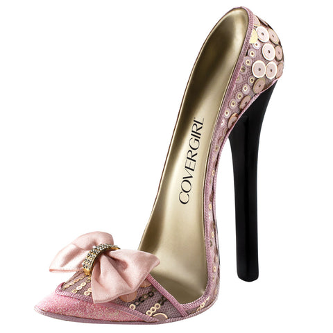 MI-2014PP  HIGH HEEL SHOE STAND - PINK PRINCESS
