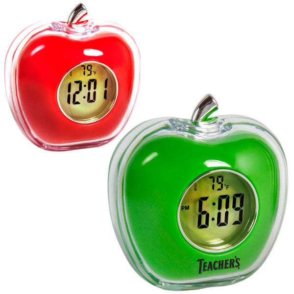 MI-2054  TALKING APPLE ALARM CLOCK