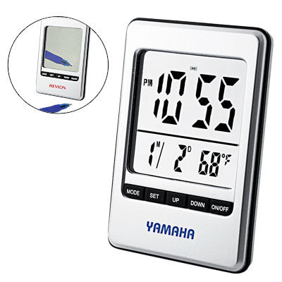 MI-2071 TRAVEL ALARM CLOCK MIRROR