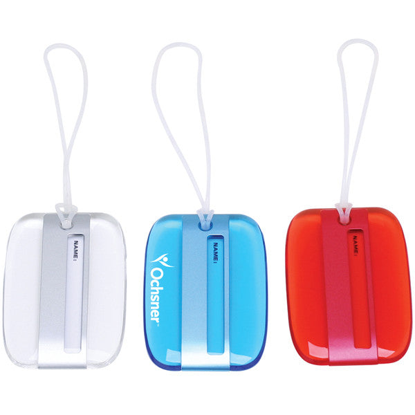 MI-262  STYLISH LUCID COLOR LUGGAGE TAG