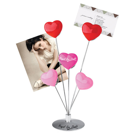 MI-2820  5-HEART MEMO/PHOTO HOLDER