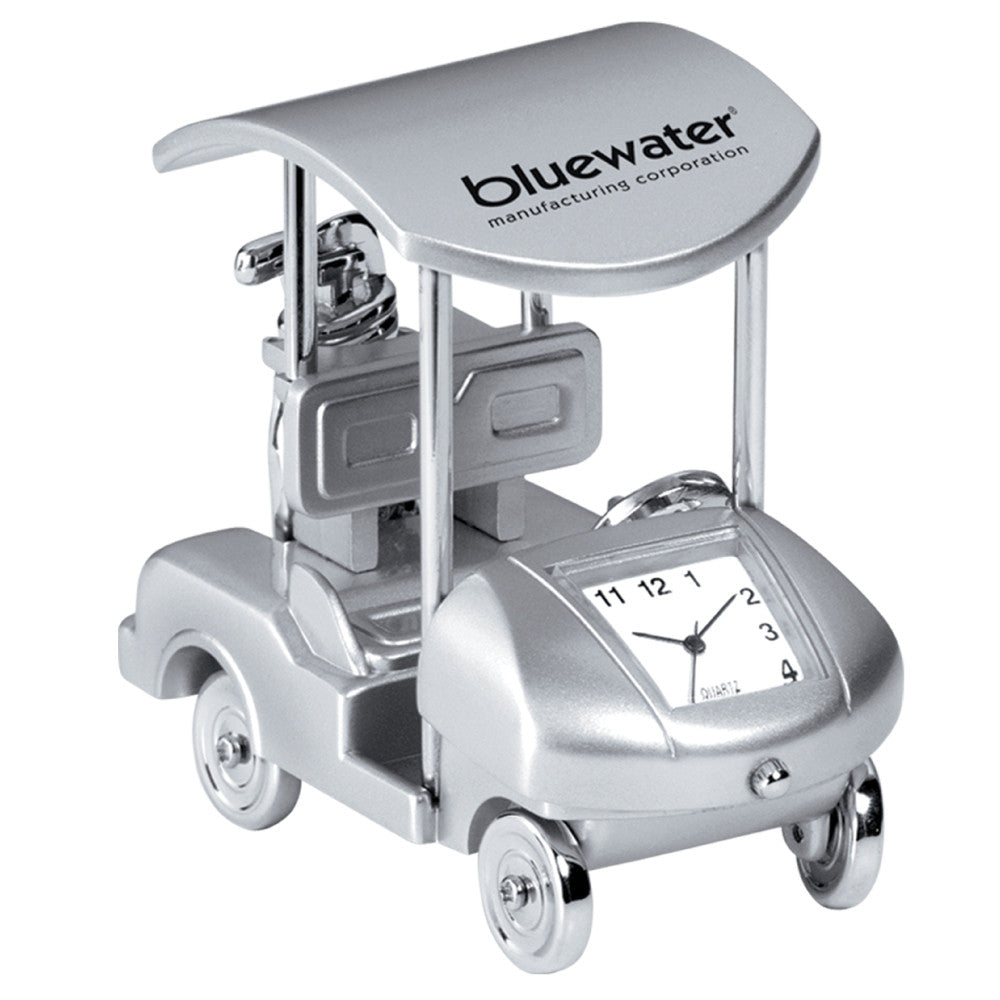 MI-3023  METAL GOLF CART CLOCK
