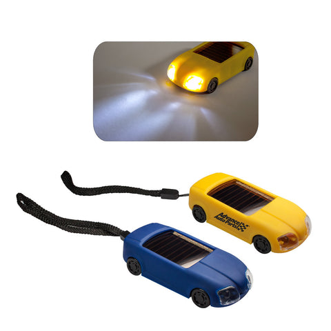 MI-3028  SOLAR CAR LIGHT KEYCHAIN