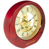 MI-3248  HI GLOSS WOODEN MOVING GEAR CLOCK