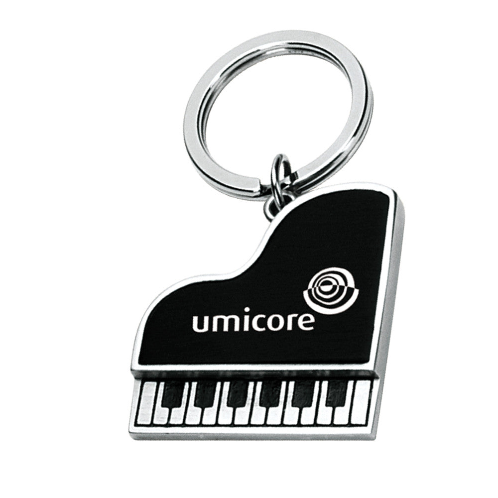MI-3416  METAL PIANO SHAPE KEY CHAIN