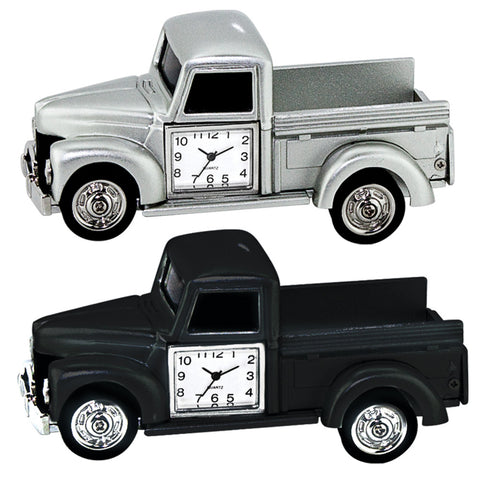 MI-3566  METAL PICK UP TRUCK CLOCK