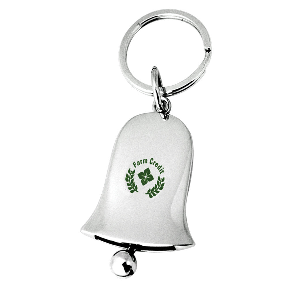 MI-356  METAL BELL KEY CHAIN WITH JINGLING BELL
