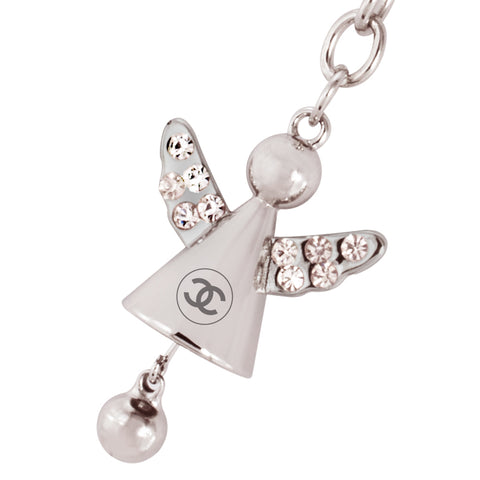 MI-357  ANGEL JEWELRY KEYCHAIN WITH JINGLING BELL