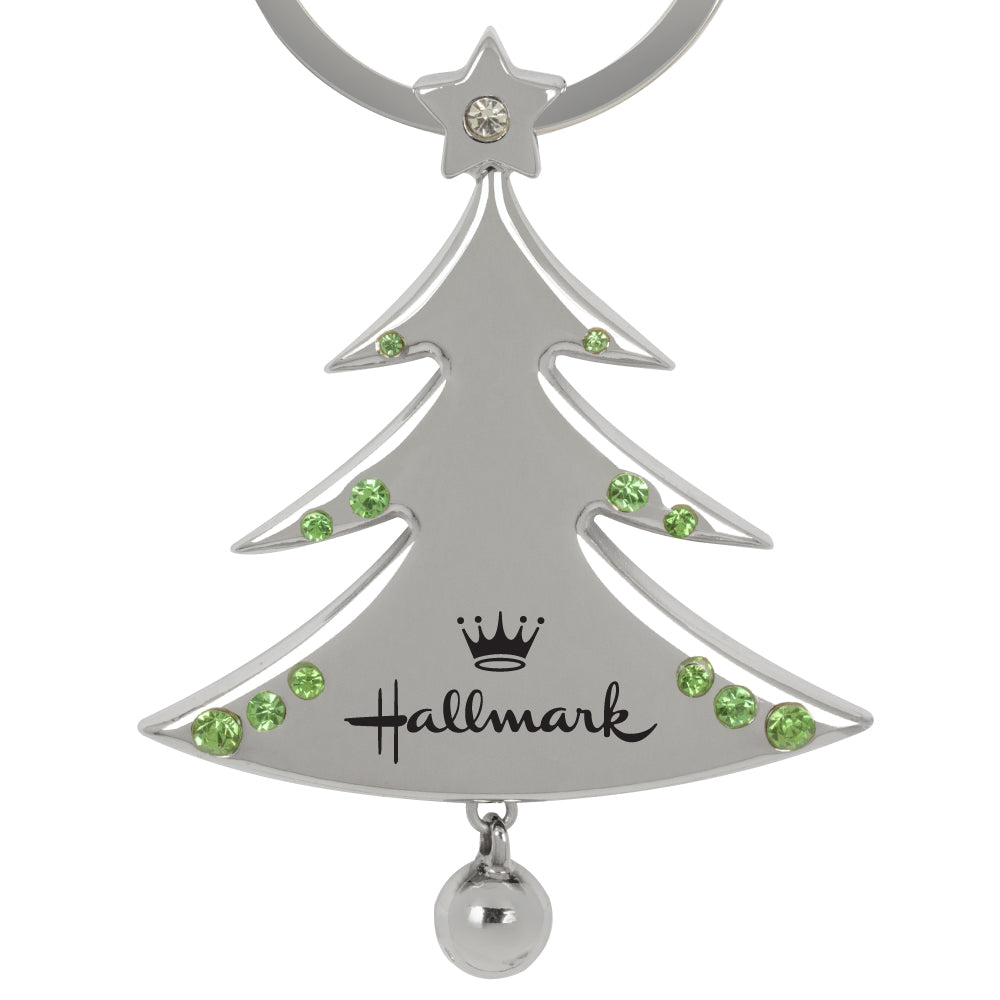 MI-358  CHRISTMAS TREE KEYCHAIN