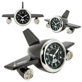 MI-3627  LARGE AIRPLANE DESK CLOCK