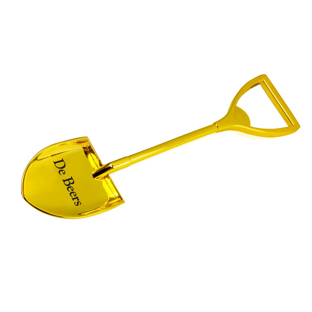 MI-4228G  METAL SHOVEL BOTTLE OPENER (GOLD)