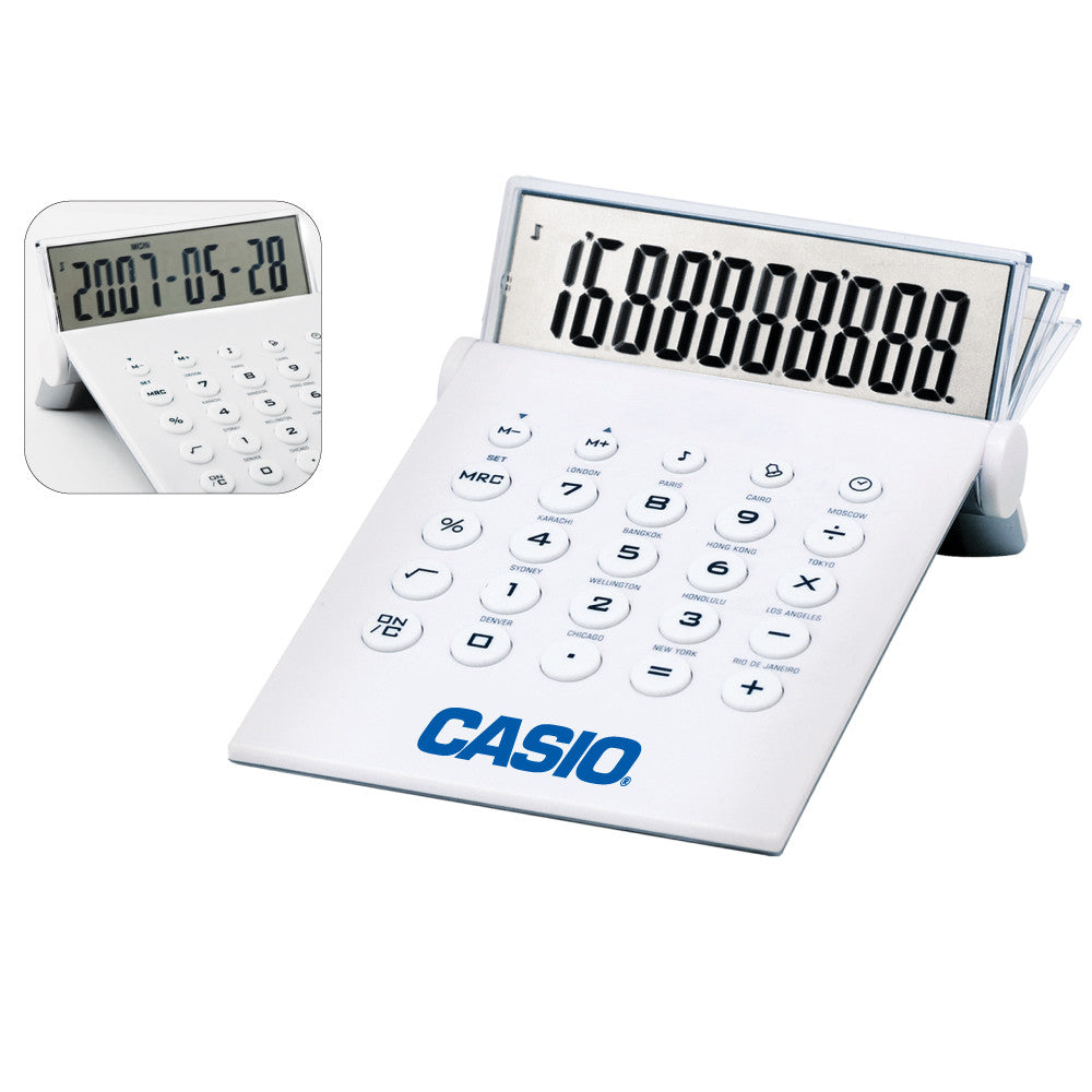 MI-4232  DESKTOP CALCULATOR & WORLD TIME CLOCK