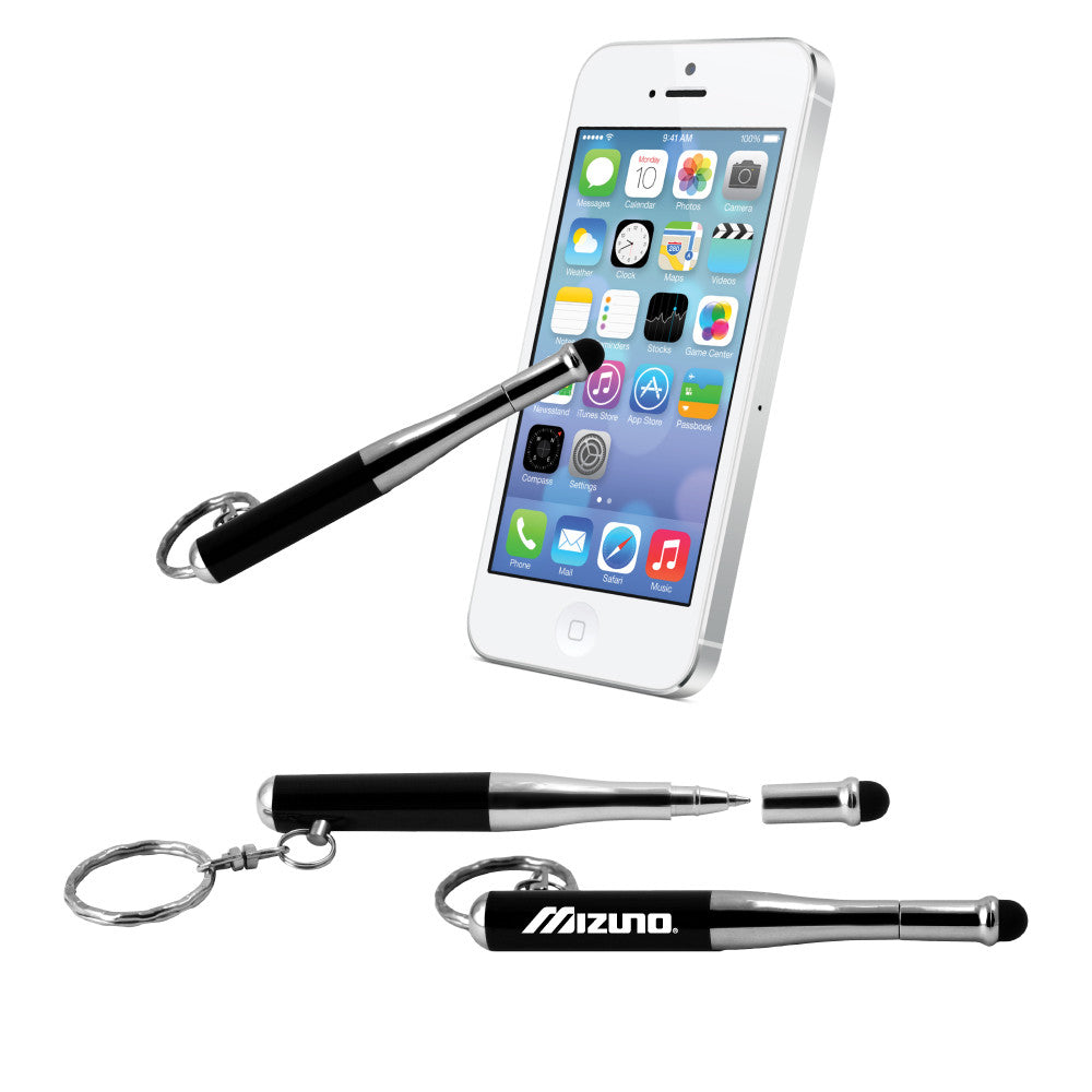 MI-5600  BASEBALL BAT / SYLUS / FLASHLIGHT / PEN KEYCHAIN