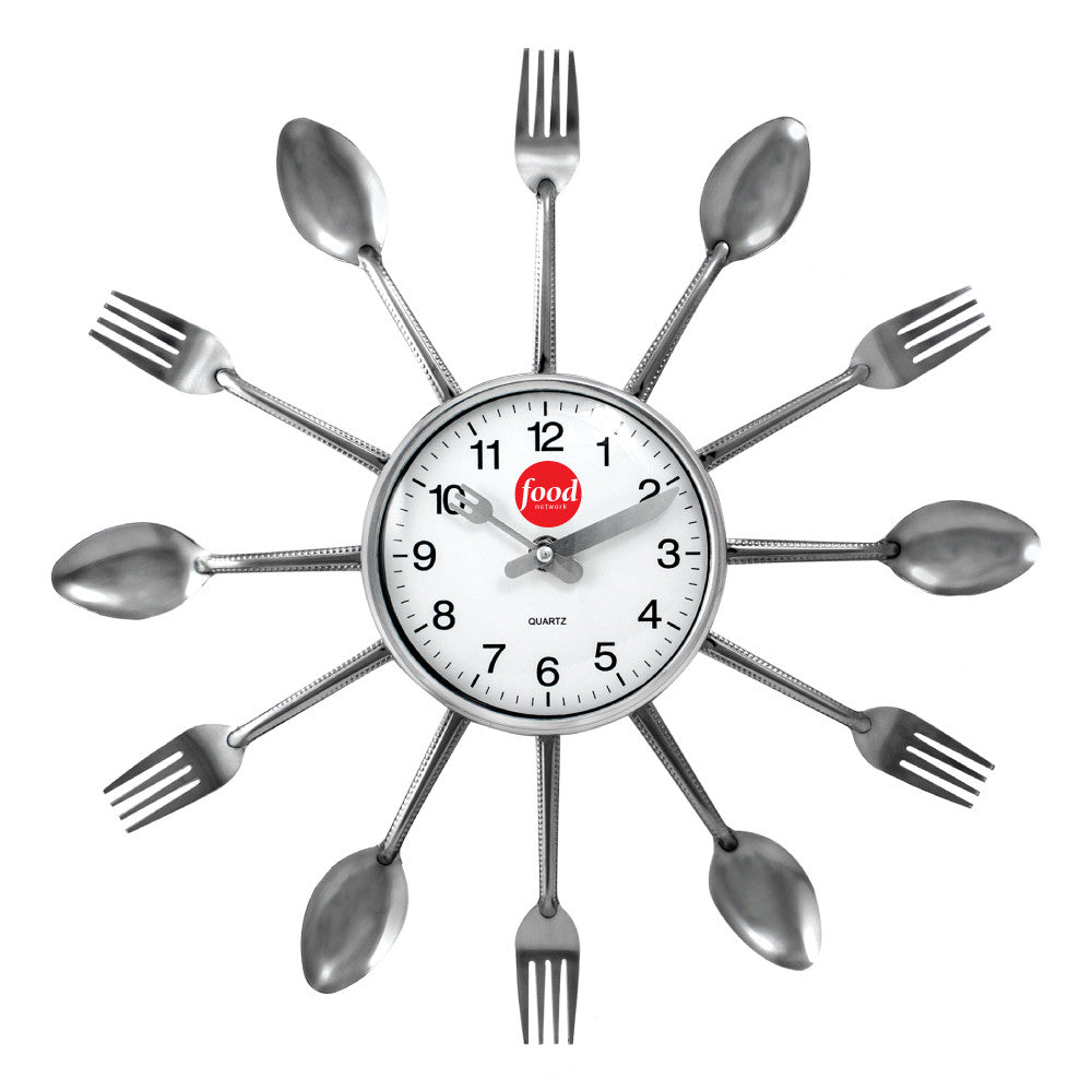 MI-7127  FORK & SPOON CLOCK