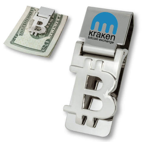 MI-7564  BITCOIN MONEY CLIP