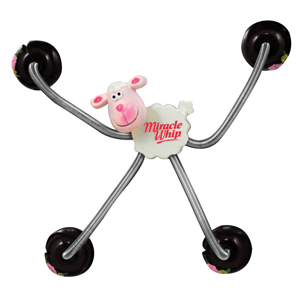 MI-8080LM  5 POINT ANIMAL MAGNETS - LAMB