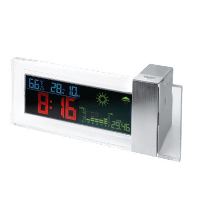 MI-959  DESKTOP CLOCK WEATHER FORECAST STATION
