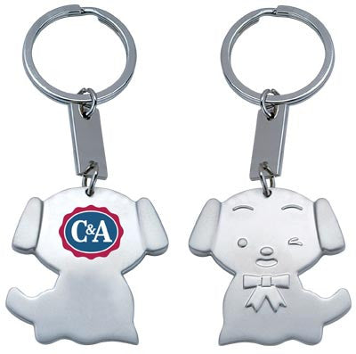MI-3378  METAL DOG KEY CHAIN